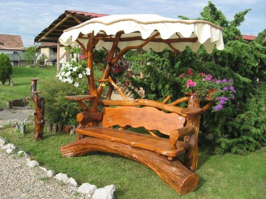 место для мебели на даче