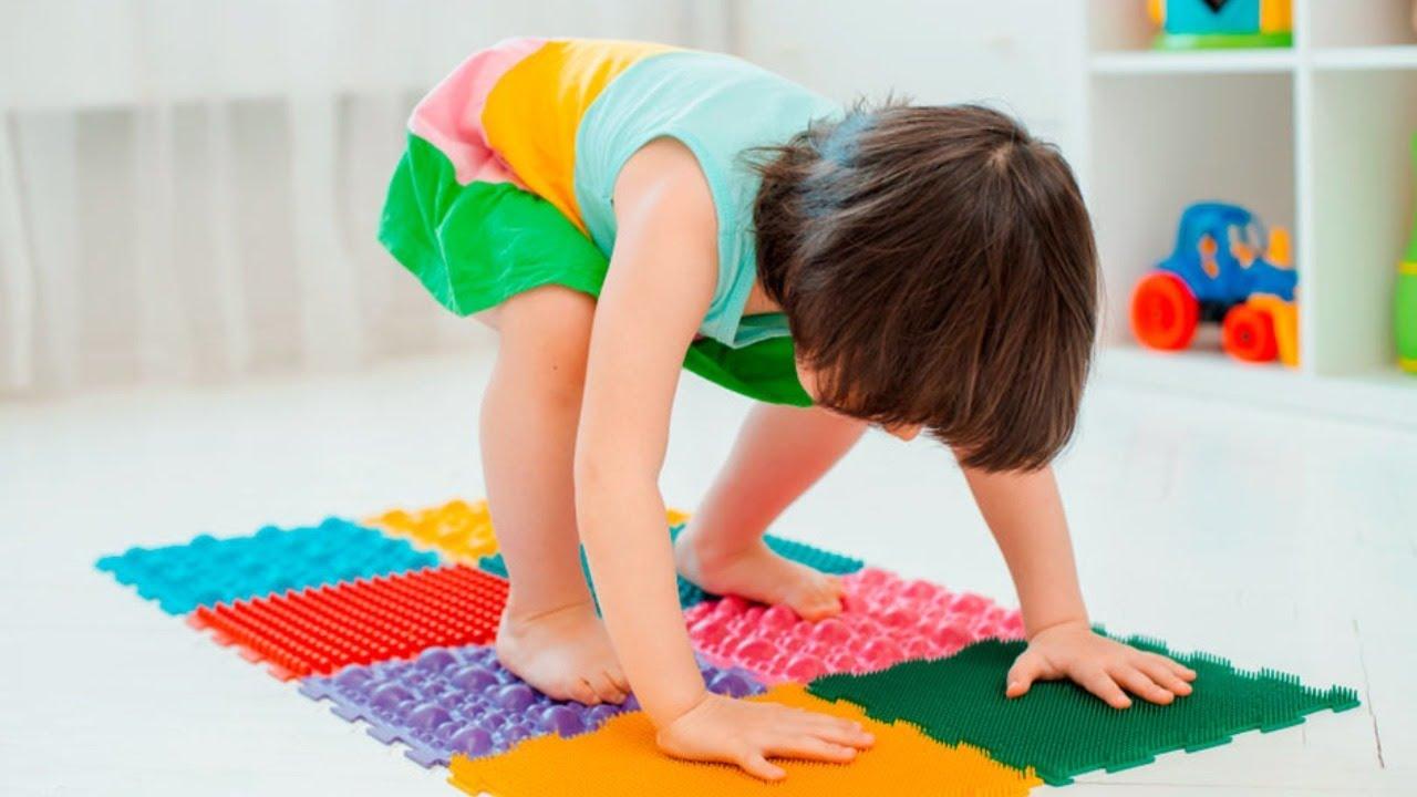как выбрать массажный коврик для ребенка