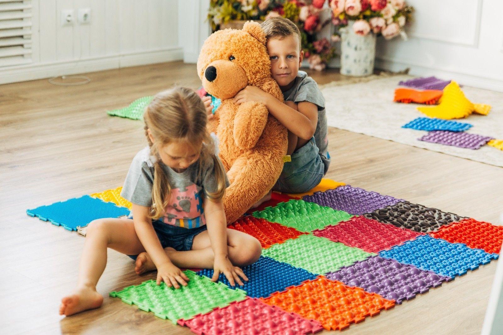 особенности детского массажного коврика