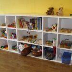 полки для игрушек