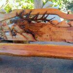 красивая скамейка