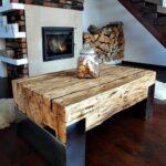 мебель из бревна - идеи