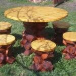 дизайн садовой мебели своими руками